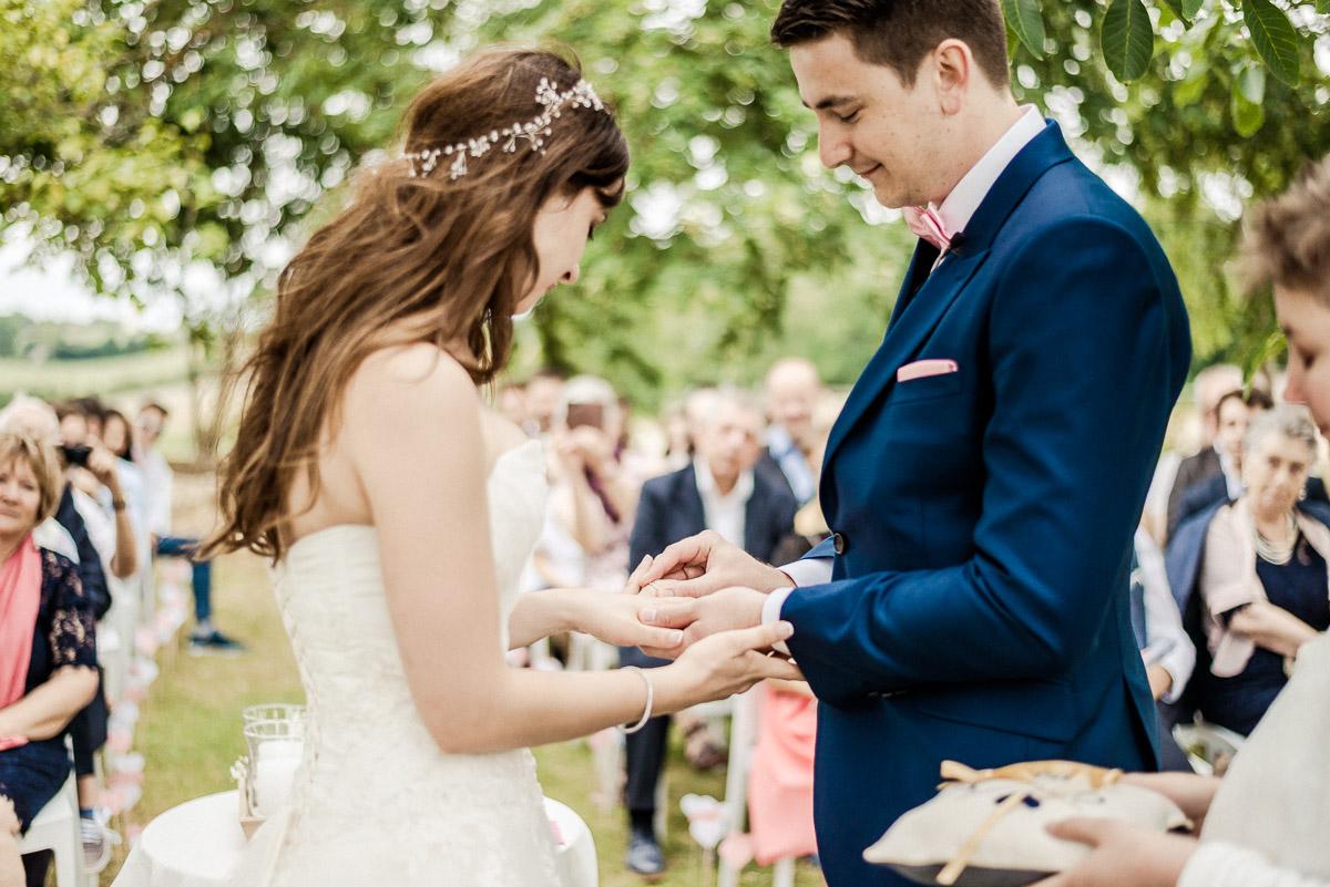 Photographie d'un mariage à Toulouse par un photographe.