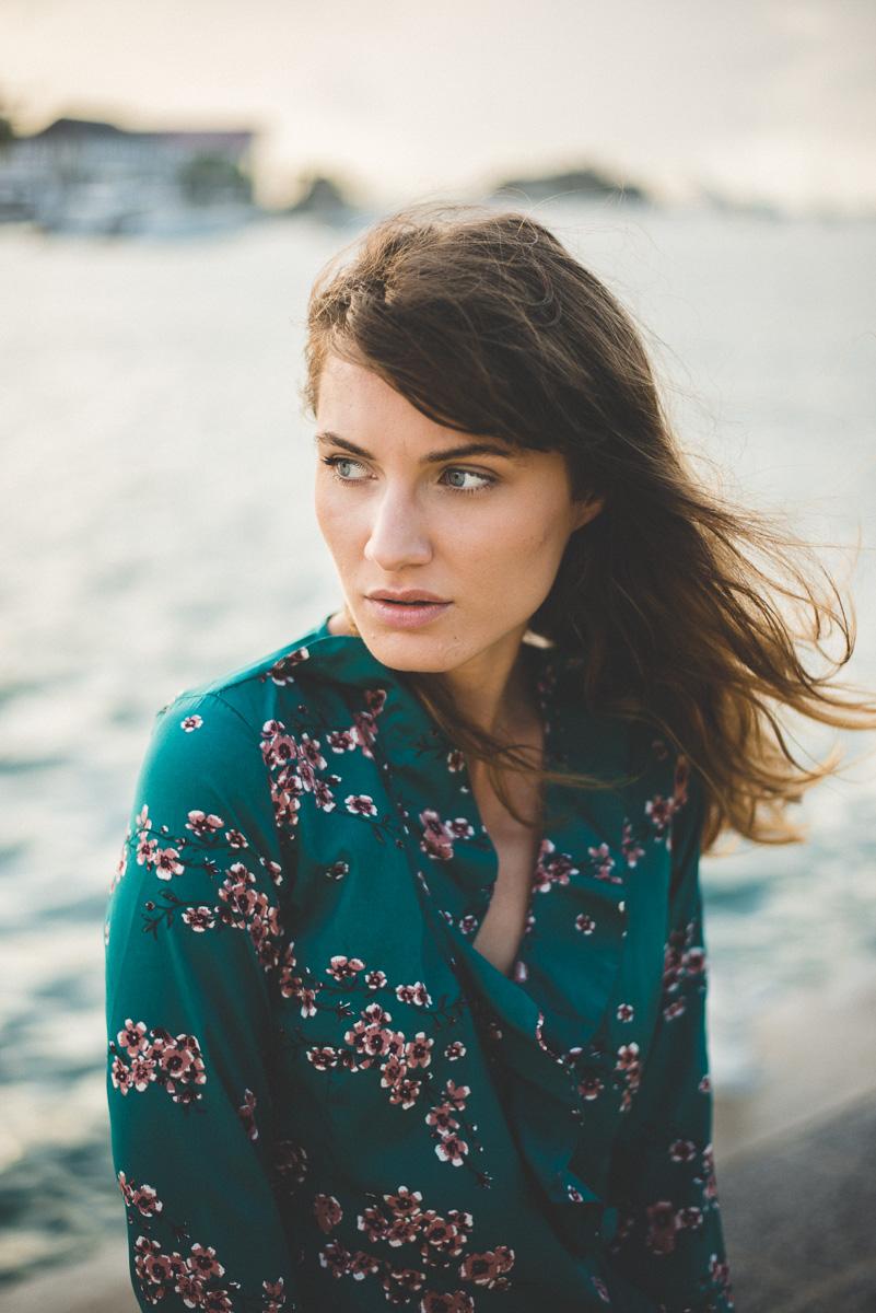 Photos de mode avec Esther Gruner à Gustavia