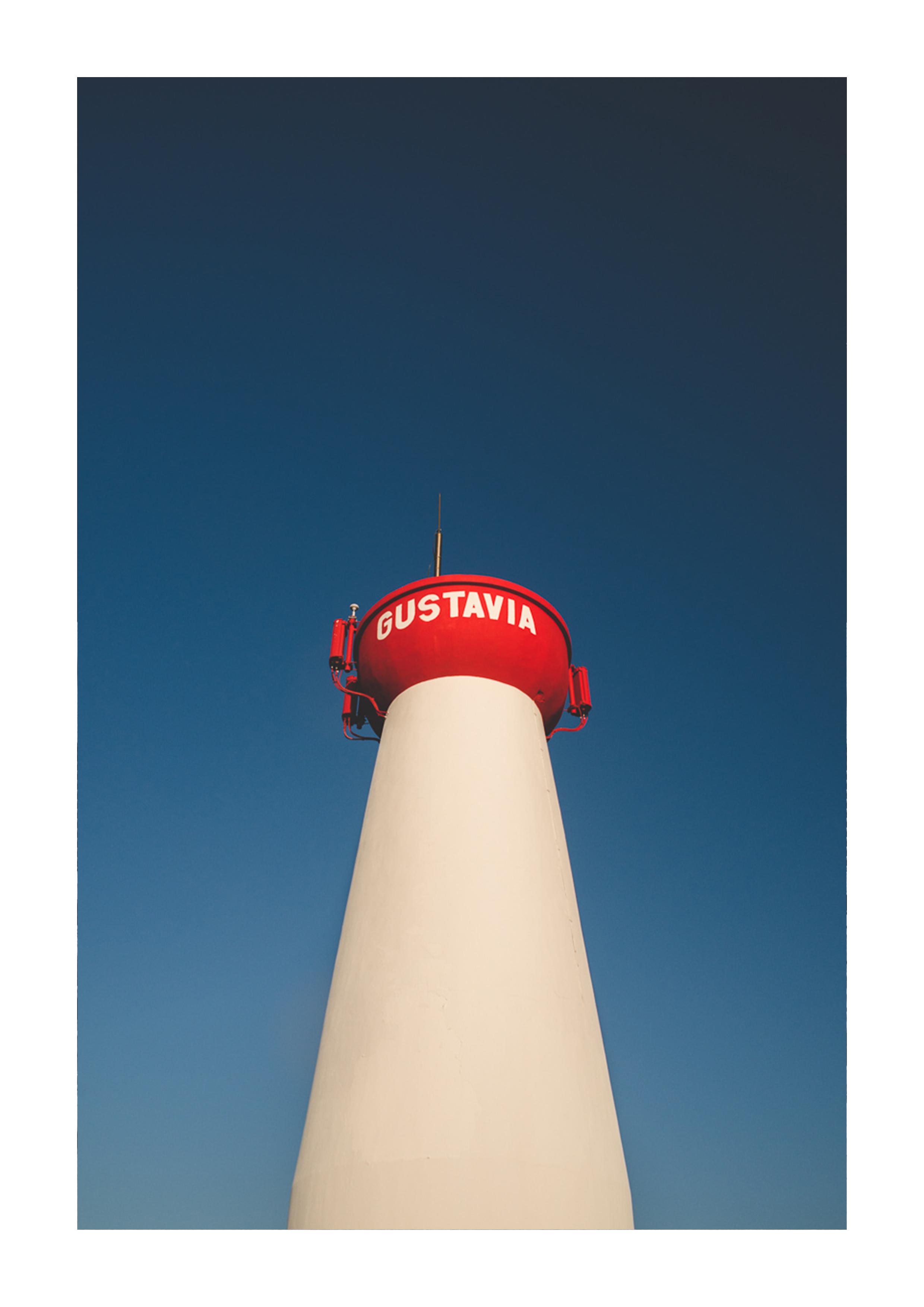 Photographie du phare de Saint Barthélemy.
