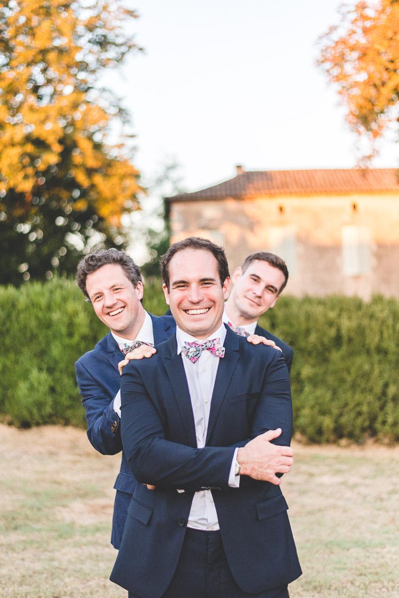 Photos de mariage professionnelles. Photos de groupe. Montauban et Cahors
