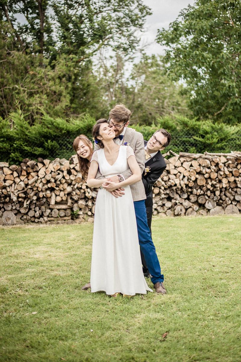Photos de mariage professionnelles. Photos de groupe. Montauban Caussade Toulouse et Albi.