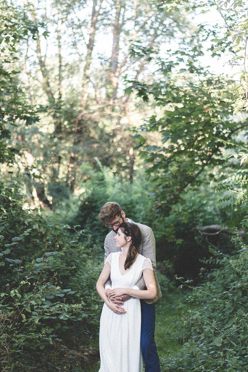 Photographie d'un mariage à Montauban.
