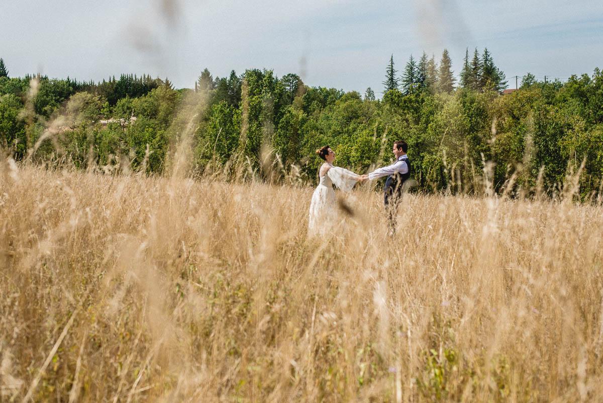 Photographie d'un mariage à Montauban par un photographe de mariage.