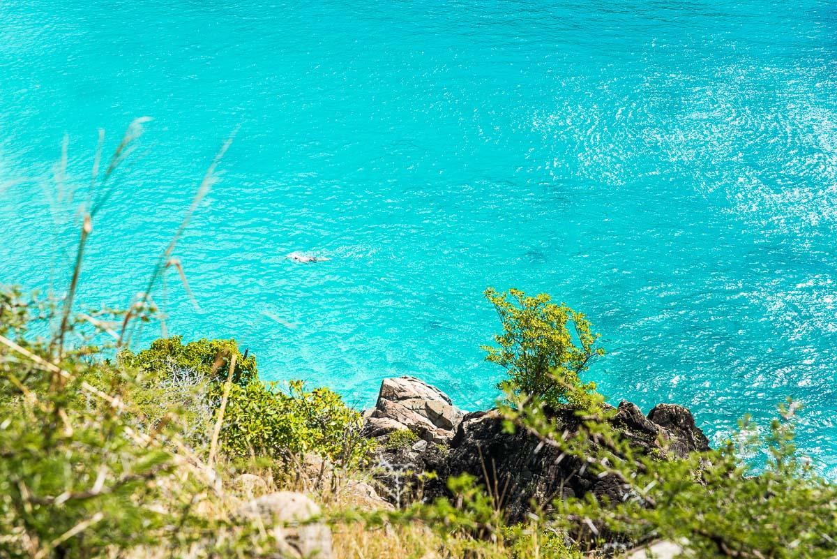 Photographie de Saint Barthélemy dans les Antilles Françaises.