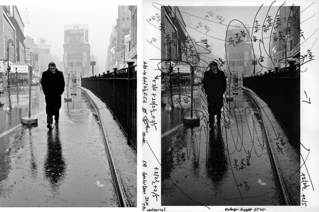 photo d'illustration d'un article sur le site de Bryan Perie représentant une retouche photo argentique.