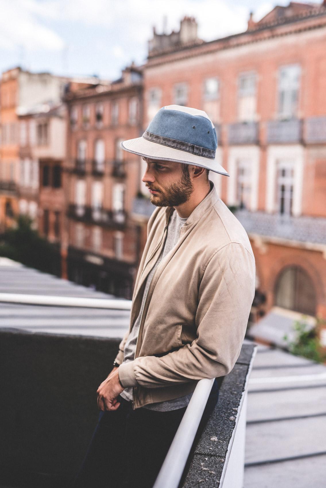 Séance photo mode pour homme dans Toulouse.