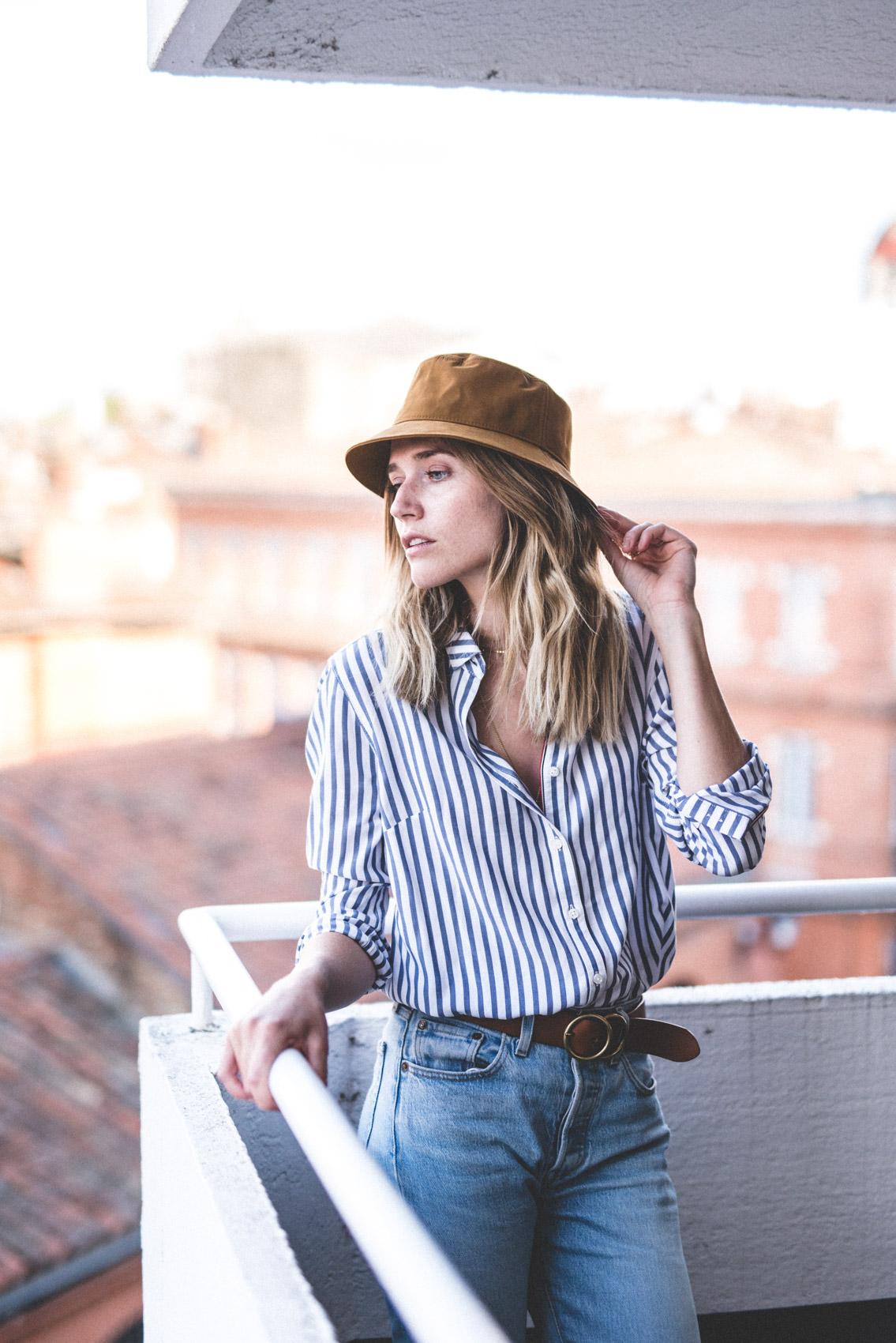 Séance de photographie de mode femme à Toulouse.